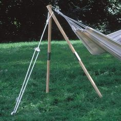 Byer Of Maine 64-in Wood Collapsible Hammock Stand A4030