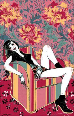 Catherine Prat - illustration