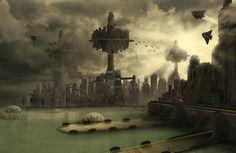 steampunk city - Google Search