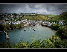 Port Isaac, Cornwall - I feel a very strong connection to this part of the world and love Port Isaac. BBC's Doc Martin show only reinforced how much I love it; Not sure if I have a family connection to this place but would like to think so! Doc Martins, Somerset England, Cornwall England, Oh The Places You'll Go, Places To Visit, Southern Ireland, Port Isaac, North Cornwall, Britain Uk