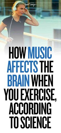 We all have special workout playlists with beats that get our hearts pumping, but you may not know exactly how music affects the brain and your fitness goals.