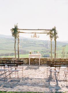 wedding ceremony idea; photo: Jose Villa