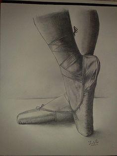 Dibujos de bailarinas de ballet a lapiz