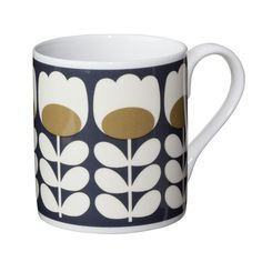Orla Kiely lots of different designs, love them all !