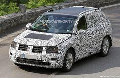 2018 Volkswagen Tiguan Spied in Heavy Camouflage