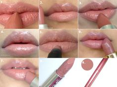 Here are 9 of my favorite nude lippies:  1.    Colorbar Velvet Matte Bare 2.    MAC Patisserie 3.    Maybelline Color Sensational ...My Mahogany 4.    Maybelline Color Sensational Lip Gloss Touch        of Toffee ~ Not a lipstick, but it's creamy  5.    Inglot Matte Lip Pencil #16 ~ It's not as drying        as it looks!  6.    Lakmé Fantasy Collection Enrich Satin #132 7.    MAC Hug Me 8.    Lakmé Lip Love Love Haze 9.    Lakmé Aquashine Old Rose ~
