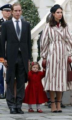Princess Caroline's granddaughter India Casiraghi, who is 19 months old, made her first National Day appearance with dad Andrea Casiraghi and mom Tatiana Santo Domingo.<br><p>Photo: © Getty Images</p>