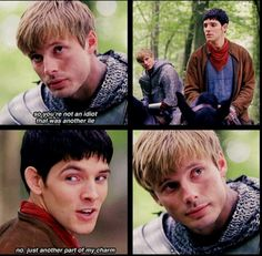 Although I admire Merlin's power, this is the kind of thing that I envy him for. He's just so... pure.