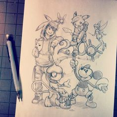 Artist: Itsbirdy | Pokémon | Mickey
