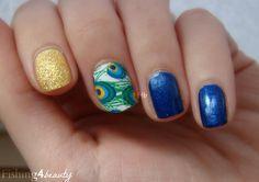 Fishing4Beauty: Jamberry Nail Shields Peacock @Jamberry Nails