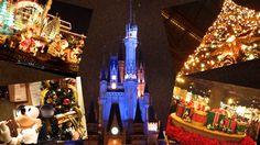 ディズニーランド「クリスマスファンタジー」のイルミネーション!2015 ワールドバザールの巨大ツリーからホリデーナイトメアーまで!