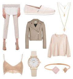 """""""☀️"""" by fridasaaa on Polyvore featuring Akris Punto, TOMS, IRO, Monki, River Island, Michael Kors and Forever 21"""