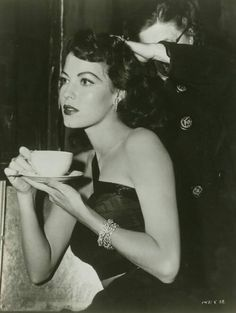 Ava Gardner. Whatever happened to class?