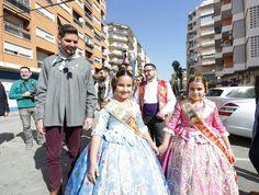 Visitant la falla Marqués de Campo.