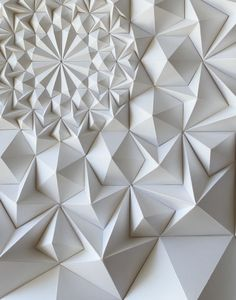 8.5.2015. th2designs. Meticulous paper folding, gives a nice pattern