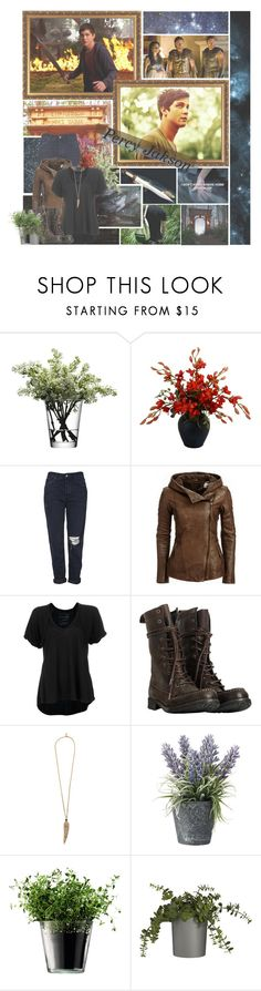 """Percy Jackson"" by skyfalll ❤ liked on Polyvore featuring Camp, LSA International, Topshop, Free People, AllSaints, Roberto Cavalli, OKA, Crate and Barrel, percyjackson and loganlerman"