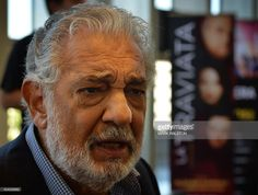 Spanish opera tenor Placido Domingo talks about the upcoming world opera competition called 'Operalia', at the Dorothy Chandler Pavilion in Los Angeles on August 26, 2014. The competition was founded by Domingo to help discover new young opera talent from around the world. AFP PHOTO/Mark RALSTON