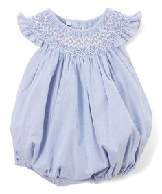 Look what I found on #zulily! Blue Kelly Bubble Romper - Infant #zulilyfinds