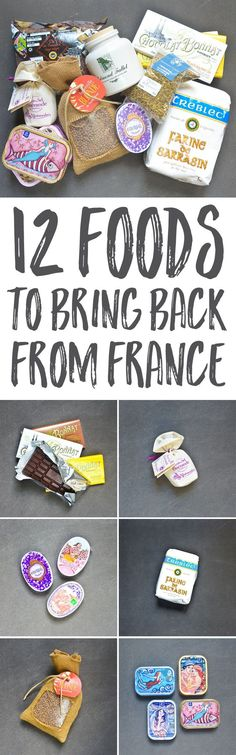 Planning a trip to France, and not sure what to bring back as an edible souvenir? These 12 suggestions are typically French, easy to find, and affordable.