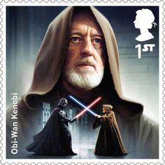 Selo 'Star Wars' (Foto: Divulgação/Royal Mail)
