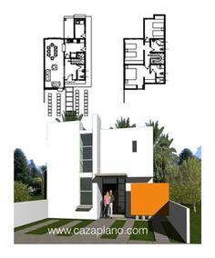 Dise os de casas con fachadas y plantas arquitect nicas for Casa moderna vigo
