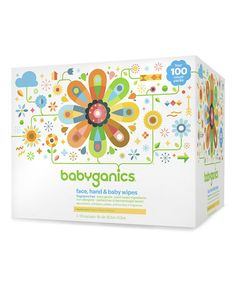Fragrance-Free Face, Hand & Baby Wipes