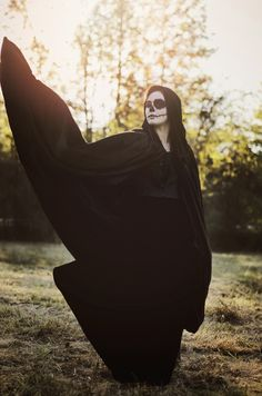 Halloween Editorial   #Halloweenmakeup #skullmakeup