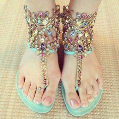#jewels #shoes #flipflops #sandals
