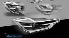 Headlight Design ZKW Matrix V45 on Behance Like & Repin. Noelito Flow. Noel http://www.instagram.com/noelitoflow