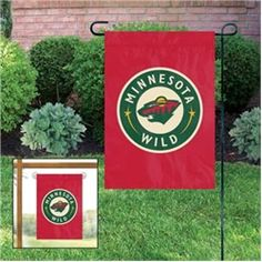Minnesota Wild Garden/Window Flag $16.99
