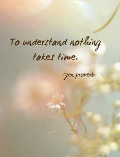 """terracemuse: """" To understand nothing takes time. (Zen proverb) image from etheral photography hunter """" Zen Quotes, Spiritual Quotes, Wisdom Quotes, Motivational Quotes, Life Quotes, Inspirational Quotes, Zen Sayings, Quotes On Meditation, Zen Buddhism Quotes"""
