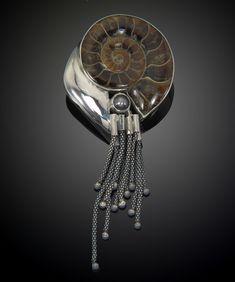 Многовековые окаменелости в дизайнерских украшениях - Ярмарка Мастеров - ручная работа, handmade