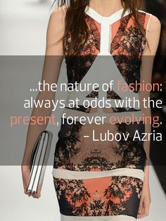 @BCBG MAX AZRIA #quote #fashion