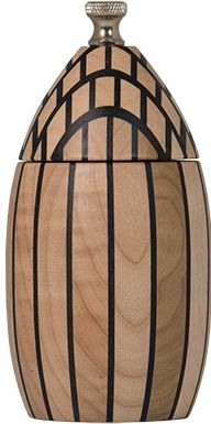 Egg laminated in Maple - Pepper & Salt mill   Peppermill Tremblay