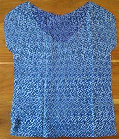 Tuto couture blouse femme étape 2
