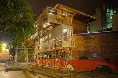 """""""guerilla architecture"""" vs. urban building CODES, zoning, etc. """"As the amount of homeless increases on the streets of our country daily, alternative methods of housing need to be explored and the Bow-House and similar type structures are..."""""""