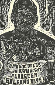 EN EL MAYO ZAPATISTA: ¡GALEANO VIVE! (Red contra la Represión y por la solidaridad)