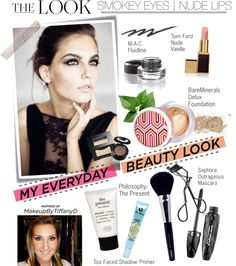 """""""My Everyday Beauty Routine"""" by houseofhauteness ❤ liked on Polyvore"""