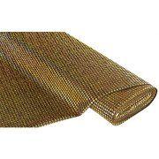 buttinette Angebot Paillettenstoff, Hologramm, gold/schwarz, 6 mm Øm, 150 cm breitIhr QuickBerater