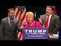 """Conservative Icon Phyllis Schlafly Endorses Candidate Donald Trump (video)…  The Last Refuge   3.11.16  """"Today in Saint Louis a life-long conservative icon Phyllis Schlafly endorsed presidential candidate Donald Trump. It is very interesting to note that individual conservative patriots, who have fought against the institutional corporate corruption within conservatism for their entire lives, are the people standing up for Trump."""""""