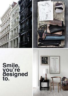 Stylist Anna Gillar by decor8, via Flickr