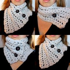 crochet cowl free pattern - have to scroll down a little
