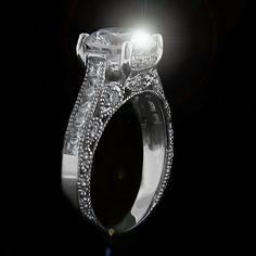 China - Diamond Engagement Ring   MiaDonna.com http://miaco.us/china