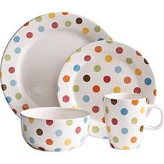 Find this Pin and more on I Neeeed This. ? Pier One Dishes totally my house! polka dot ...  sc 1 st  Pinterest & Wedgwood Polka Dot Tea Story Dinnerware | Artedona.com | Tea time ...