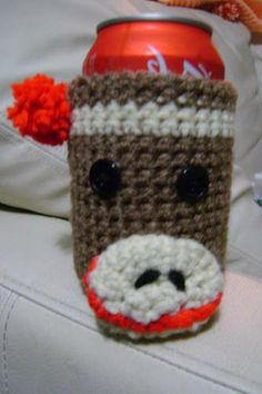 Spell My Name (Initials Edition)-sock monkey can holder for quaggy
