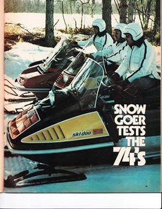 1974 ski-doo