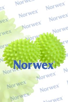Norwex Dryer Balls ...Place both Dryer Balls in your dryer with laundry. The unique design of the Dryer Balls lifts and separates laundry while softening fabrics. This reduces drying time, static cling and wrinkles, naturally, without chemicals. No need to use fabric softener or dryer sheets. Use for any fabrics, including delicate fabrics, jeans and towels. If you are having static, you may be drying too long. Reduce the dryer cycle.