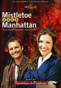 mistletoe over manhattan hallmark channel dvd item 883476120836 hallmark christmas christmas movies