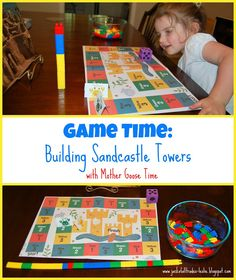 Jack of All Trades: Game Time: Building Sandcastle Towers Mother Goose Time, Towers, Games, Building, Tours, Buildings, Toys, Construction, Game