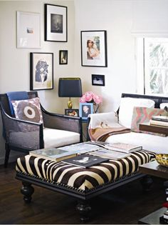 Habitually Chic®: The Hills are Alive  Gallery wall